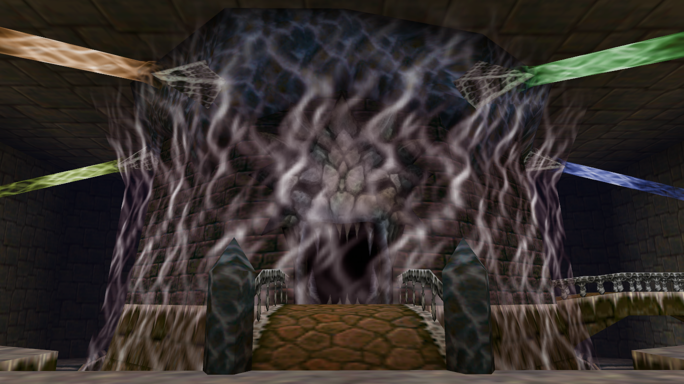 Inside Ganon S Castle Zeldapedia The Legend Of Zelda