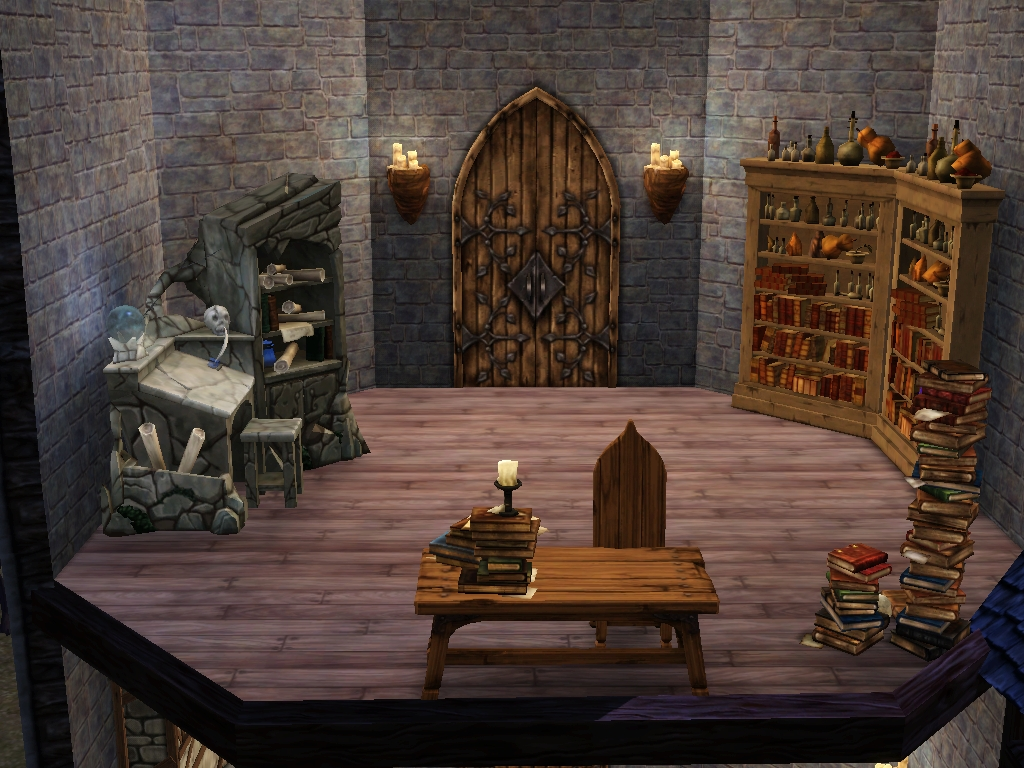 Wizard S Tower The Sims Medieval Wiki A Wiki About The