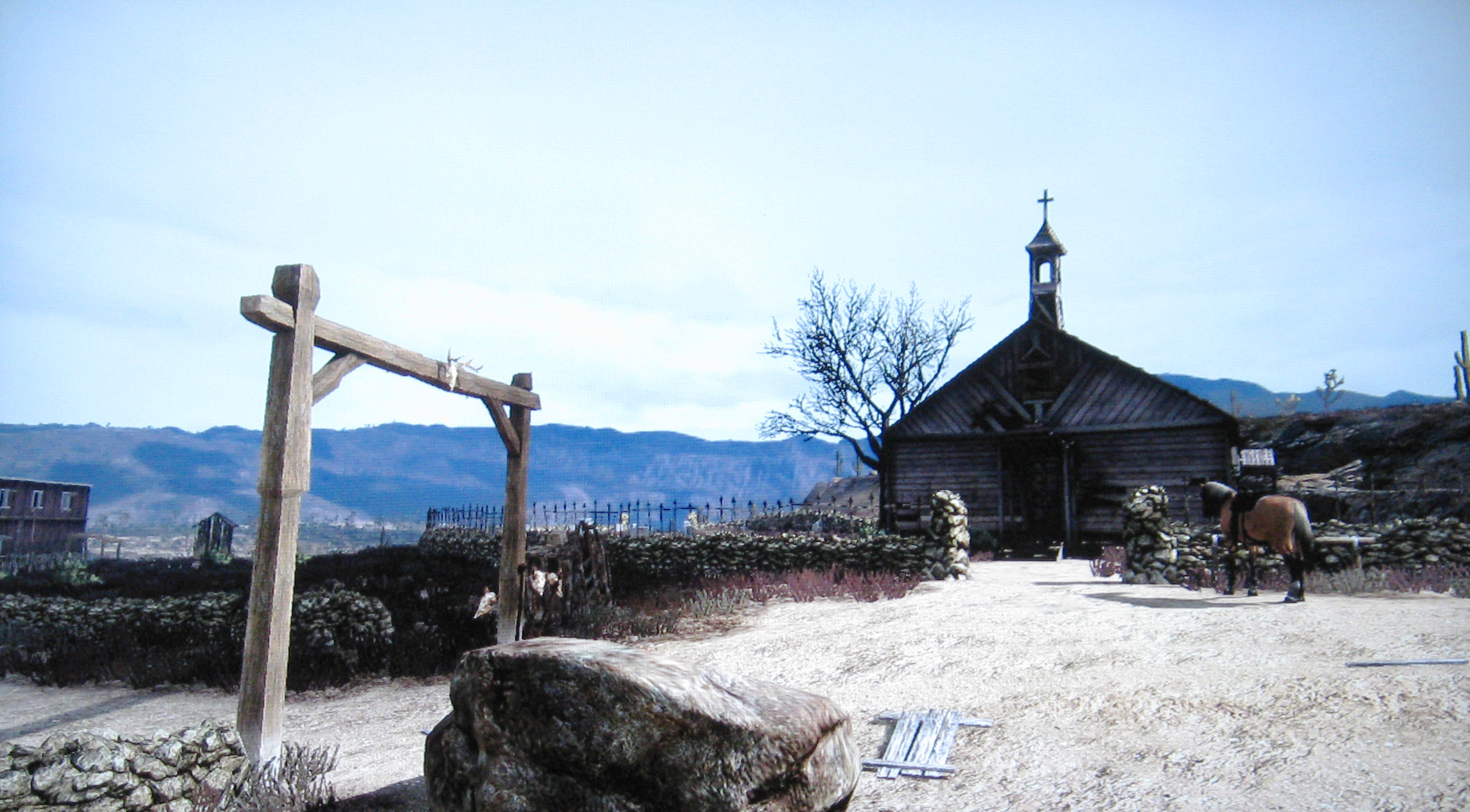 Red Dead Redemption Devil In Tumbleweed Church Images & Pictures ...