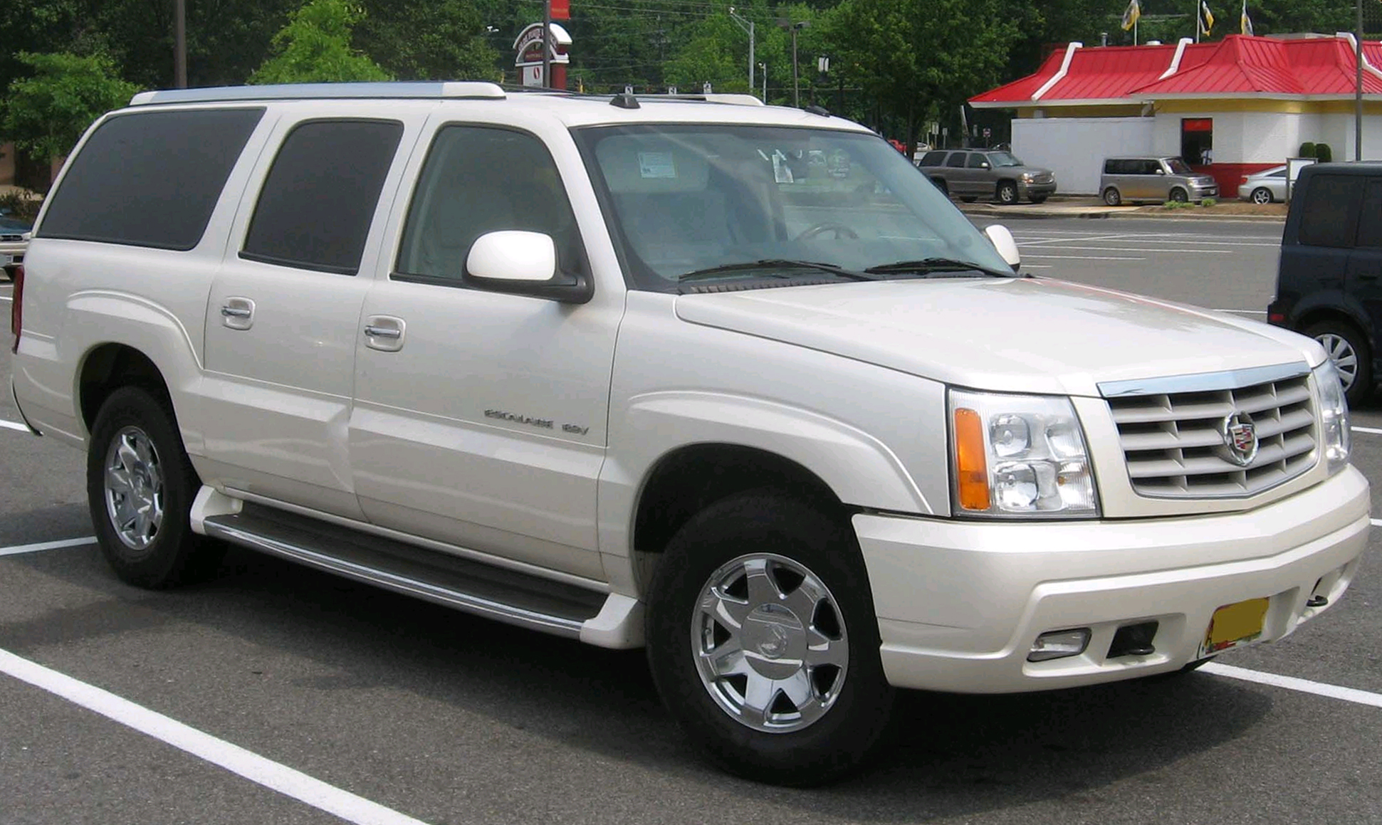 Cadillac Escalade - Tractor & Construction Plant Wiki - The classic ...