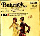 Butterick 6752 A
