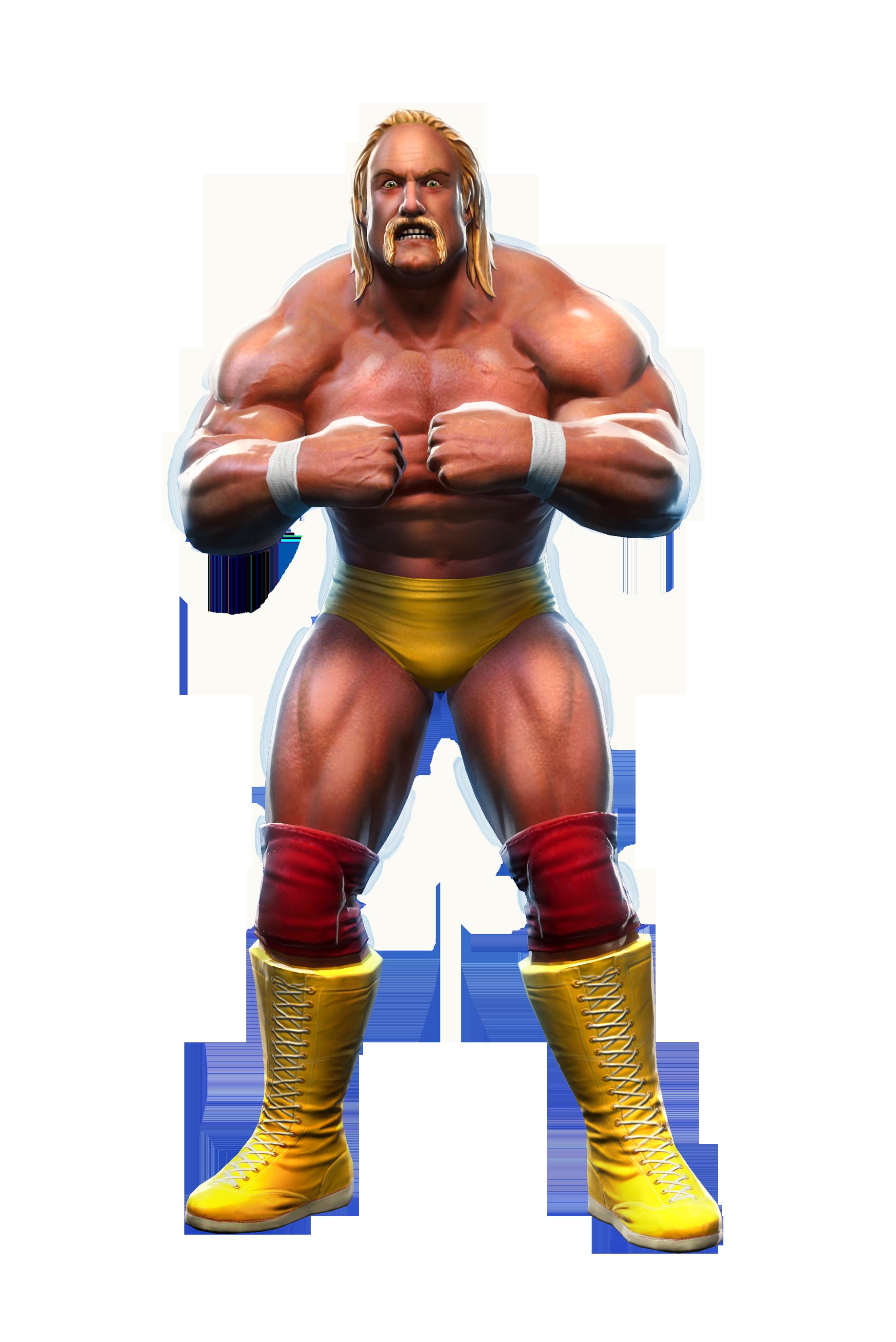 ... moustache du catcheur Hulk Hogan, de son vrais nom Terrance Gene