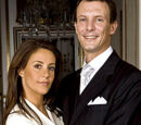 Engagement of Prince Joachim and Marie Cavallier