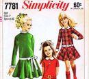 Simplicity 7781 A
