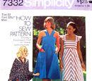 Simplicity 7332 A