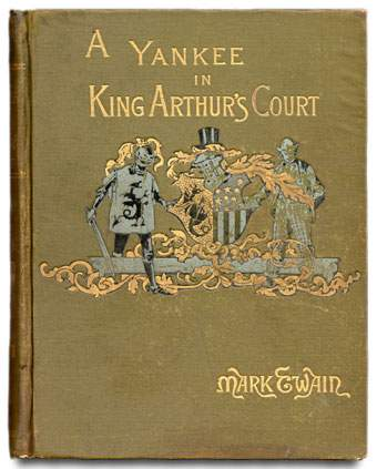 a report on mark twains novel a connecticut yankee in king arthurs court This article presents a critique of mark twain's book a connecticut yankee in king arthur's court, claiming it contains an attack on united states' imperialism.