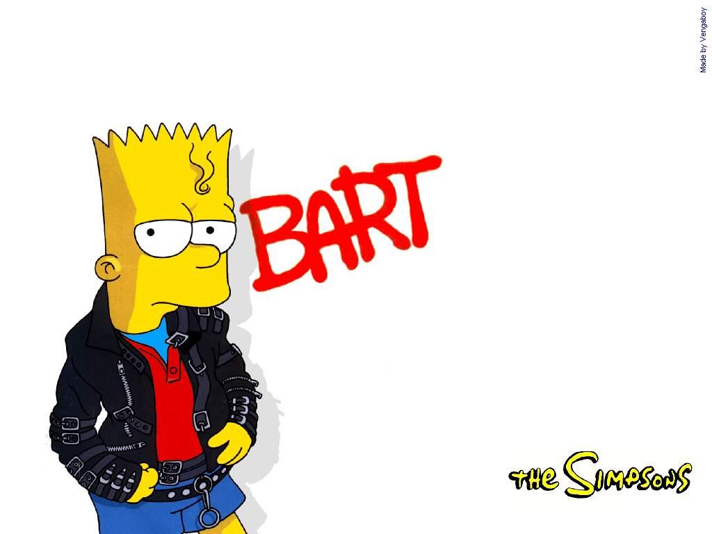 Bart Simpson S Skateboarding Wallpaper