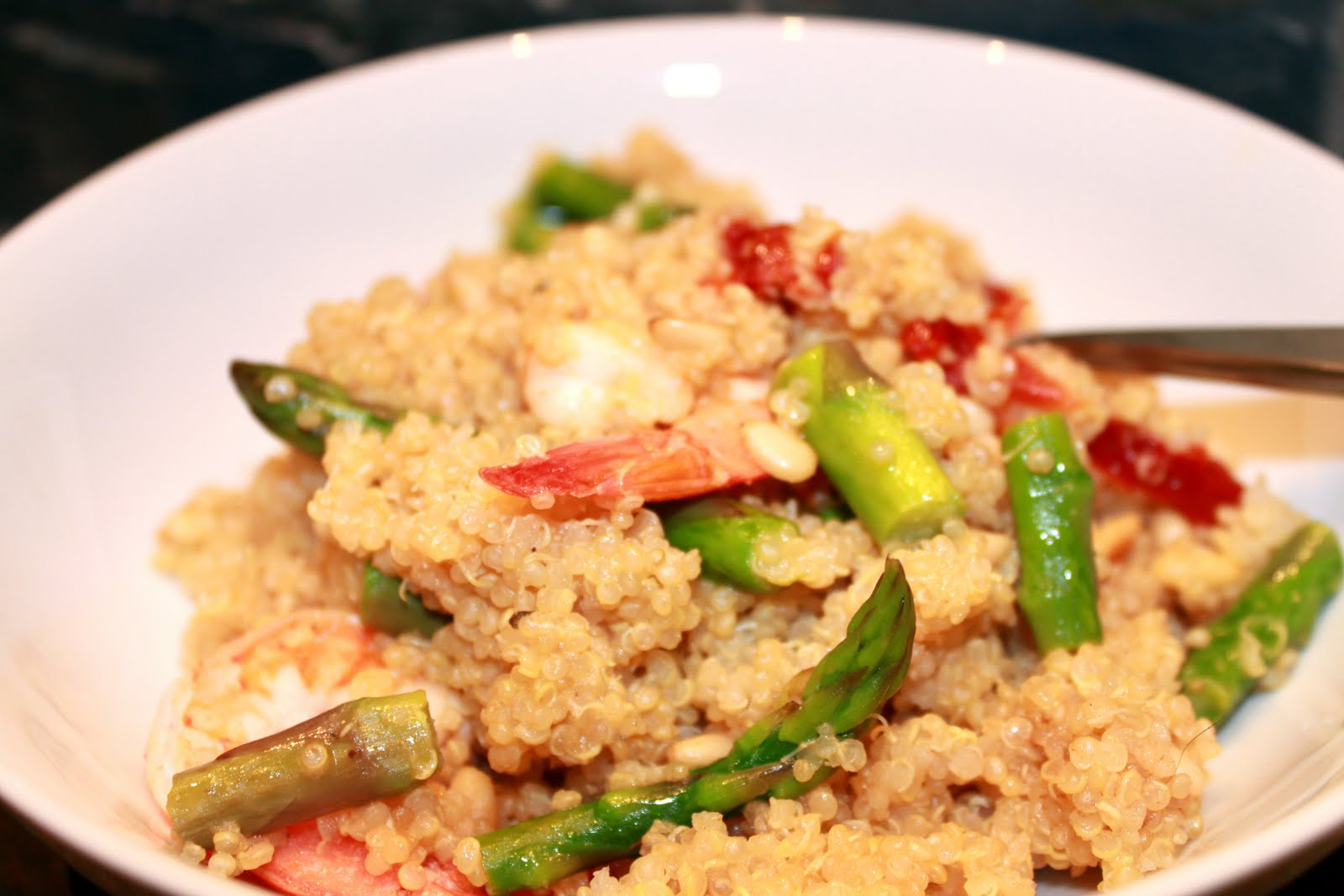 Asparagus Quinoa