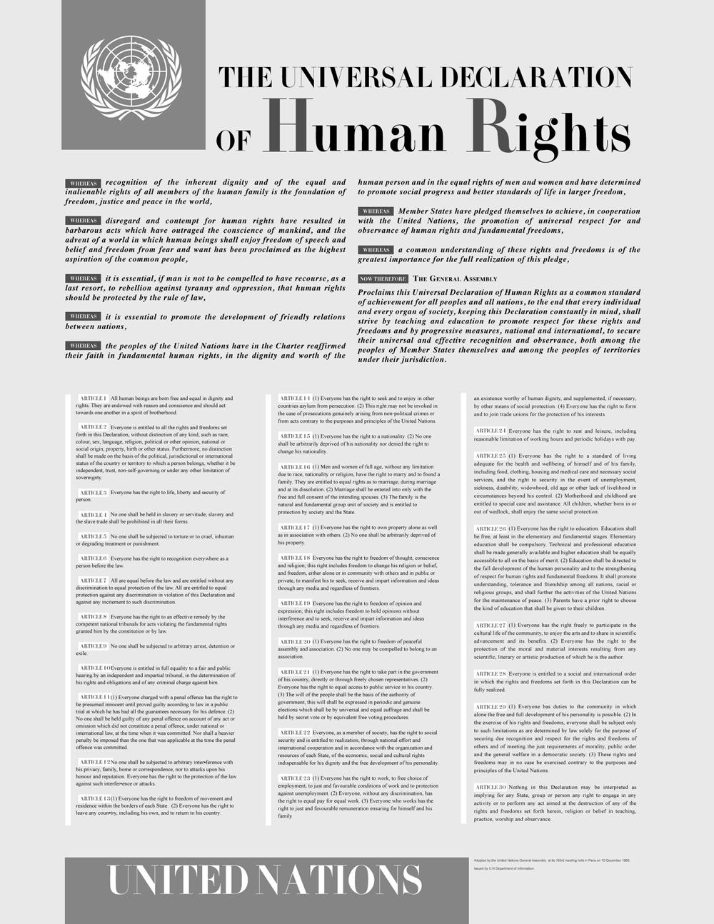 Human Rights Debate: Universalism Versus Relativism – OpEd