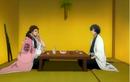 Amagai drinks with Kyoraku.png