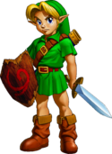 Young Link Artwork 2 (Ocarina of Time)