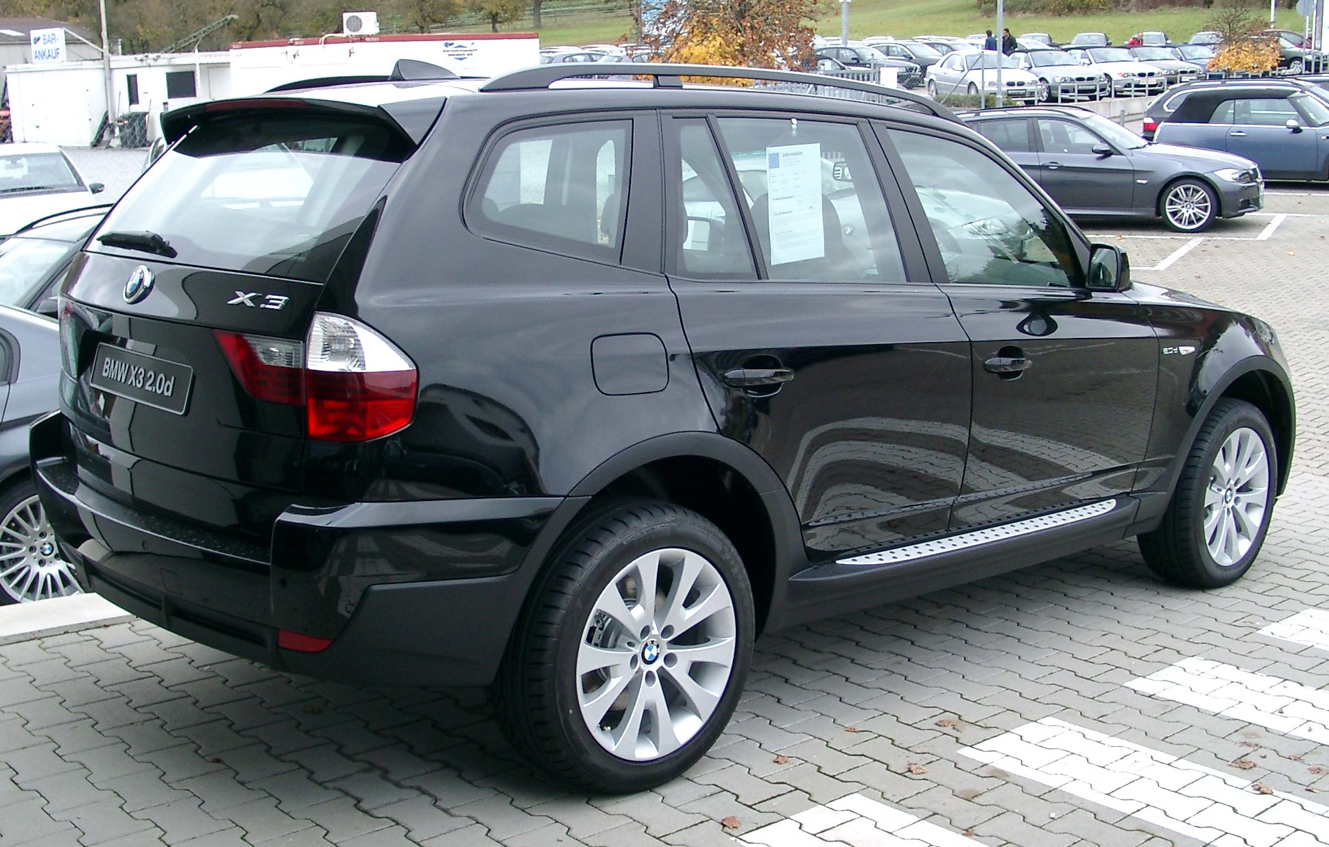 Bmw X3 E83 Tractor Amp Construction Plant Wiki The Classic Vehicle And Machinery Wiki