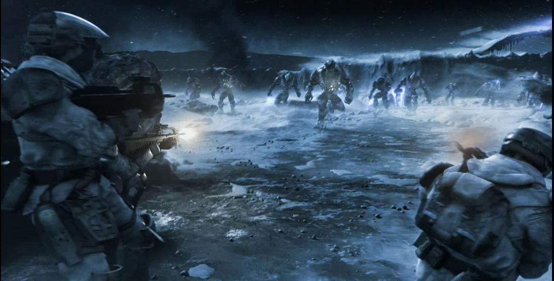 Halo Wars Marines vs Flood Archivo:halo Wars Marine br