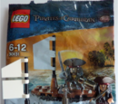 30131 Jack Sparrow with Raft