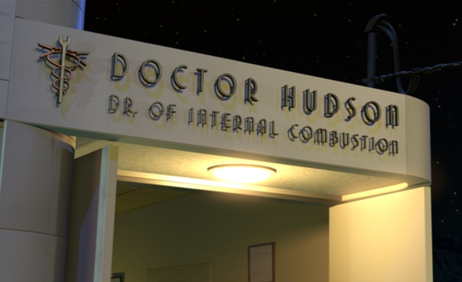 Doctor Hudson Dr Of Internal Combustion Pixar Wiki Make Your Own Beautiful  HD Wallpapers, Images Over 1000+ [ralydesign.ml]