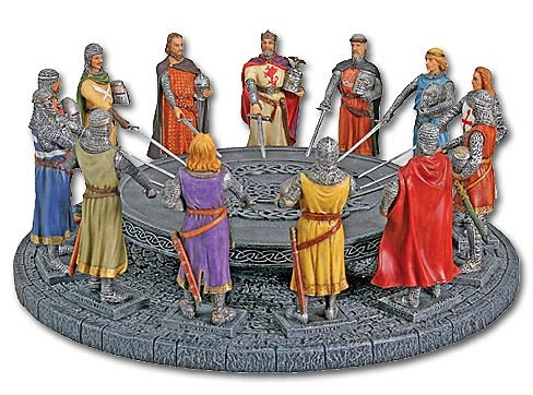 Round table quondam et futurus for 12 knight of the round table