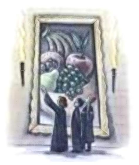 Hogwarts Kitchen Painting Harry Potter Wiki