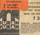 1987 - 7 May: Rotterdam (The Netherlands)