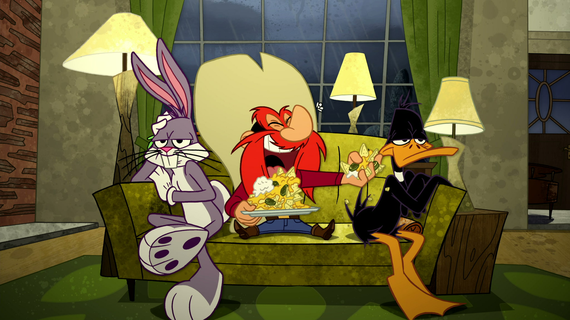 Fish And Visitors The Looney Tunes Show Wiki The