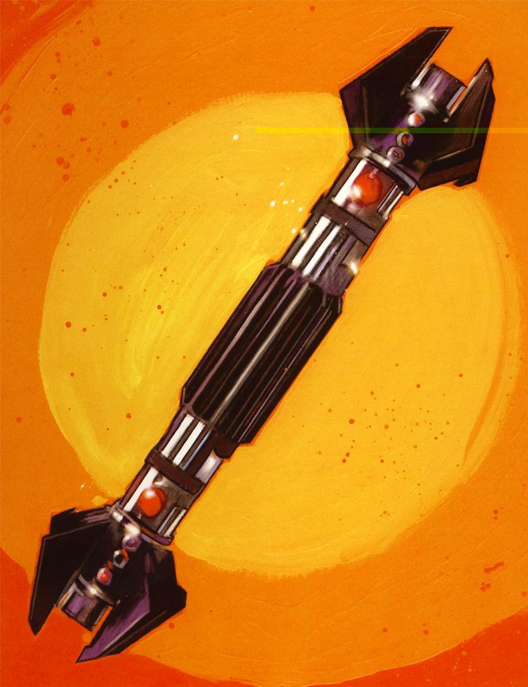 Световой меч Экзара Куна