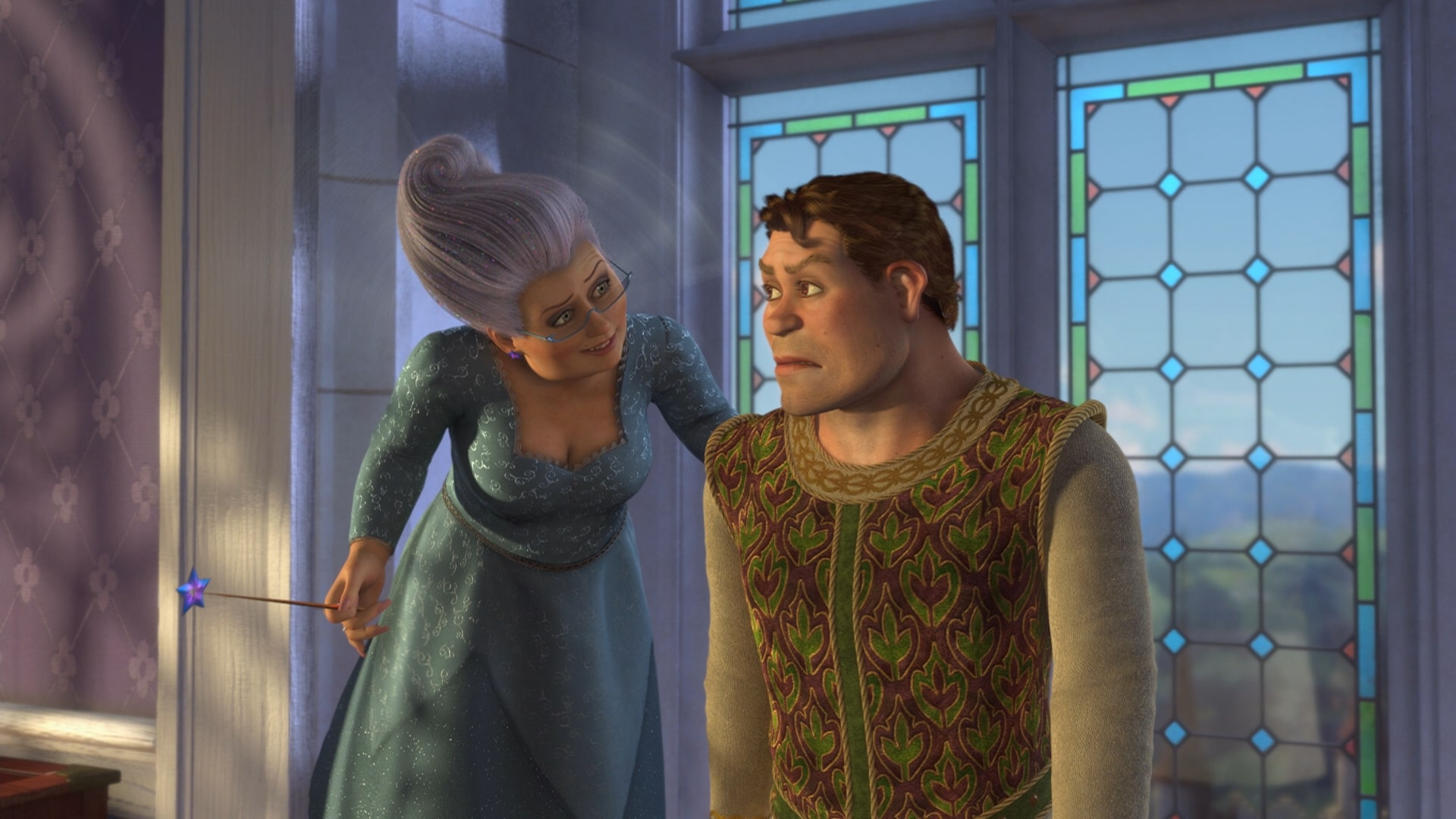 Fairy godmother human shrek - shrek 2Shrek 3 Human