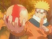 Naruto Practica el Rasengan