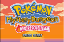 Pokémon Mystery Dungeon Red Rescue Team Title Screen.png