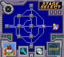 Stage select screens
