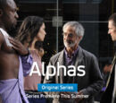 Kate.moon/Alphas Super-Powered Premiere