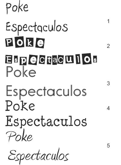 Tipos d letras - Imagui