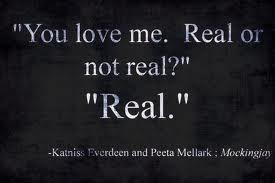 Peeta And Katniss Love Quotes  QuotesGram