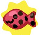 Ladybug Fish Bait