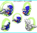 Sonic Riders: Zero Gravity concept artwork