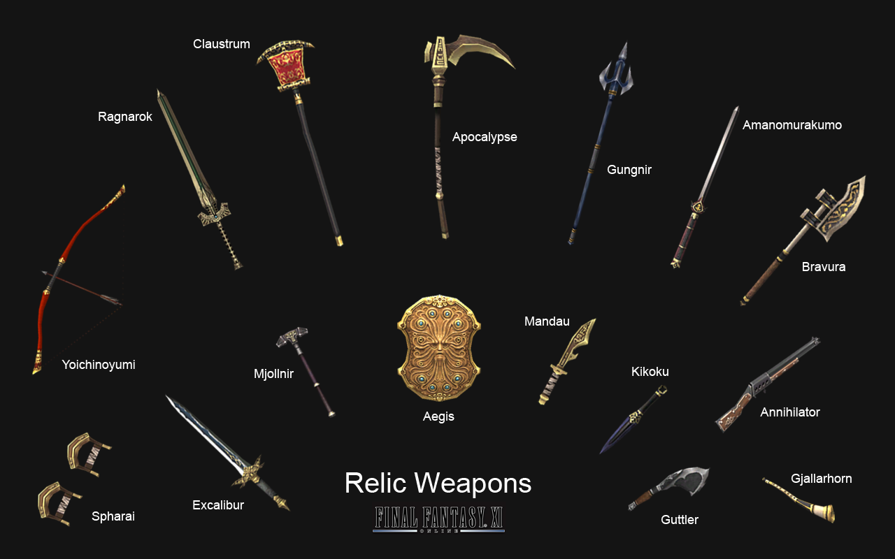 Relic Weapons in Final Fantasy XI