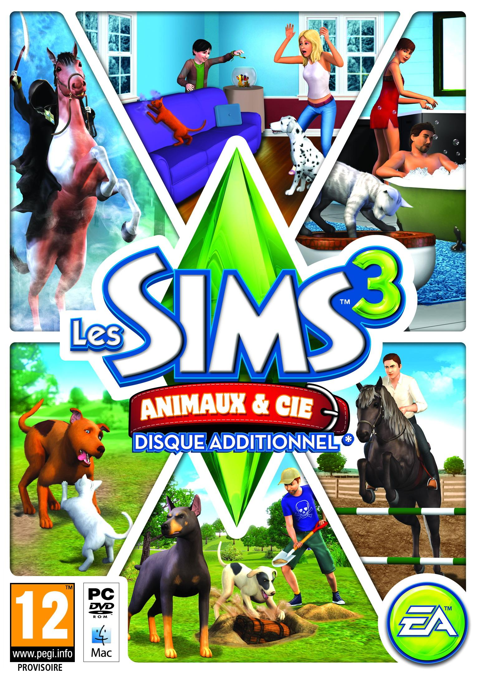 Les Sims 3 Showtime Edition Collector Katy Perry: Les Sims 3: Animaux & Cie