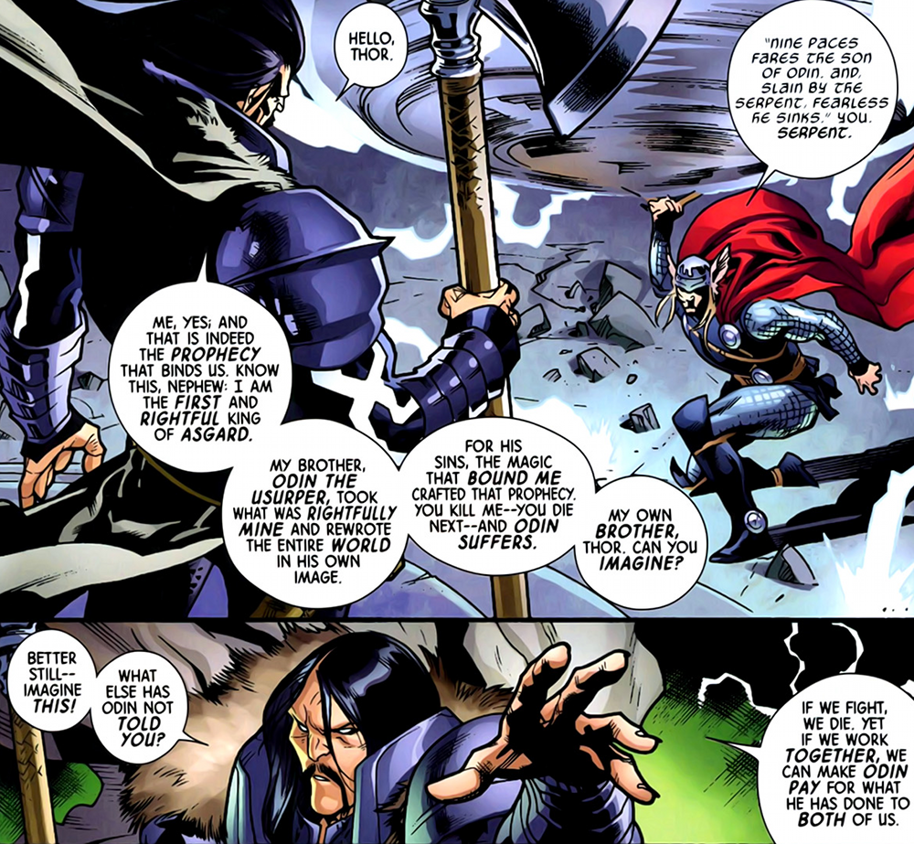 thor thor odinson marvel comics database