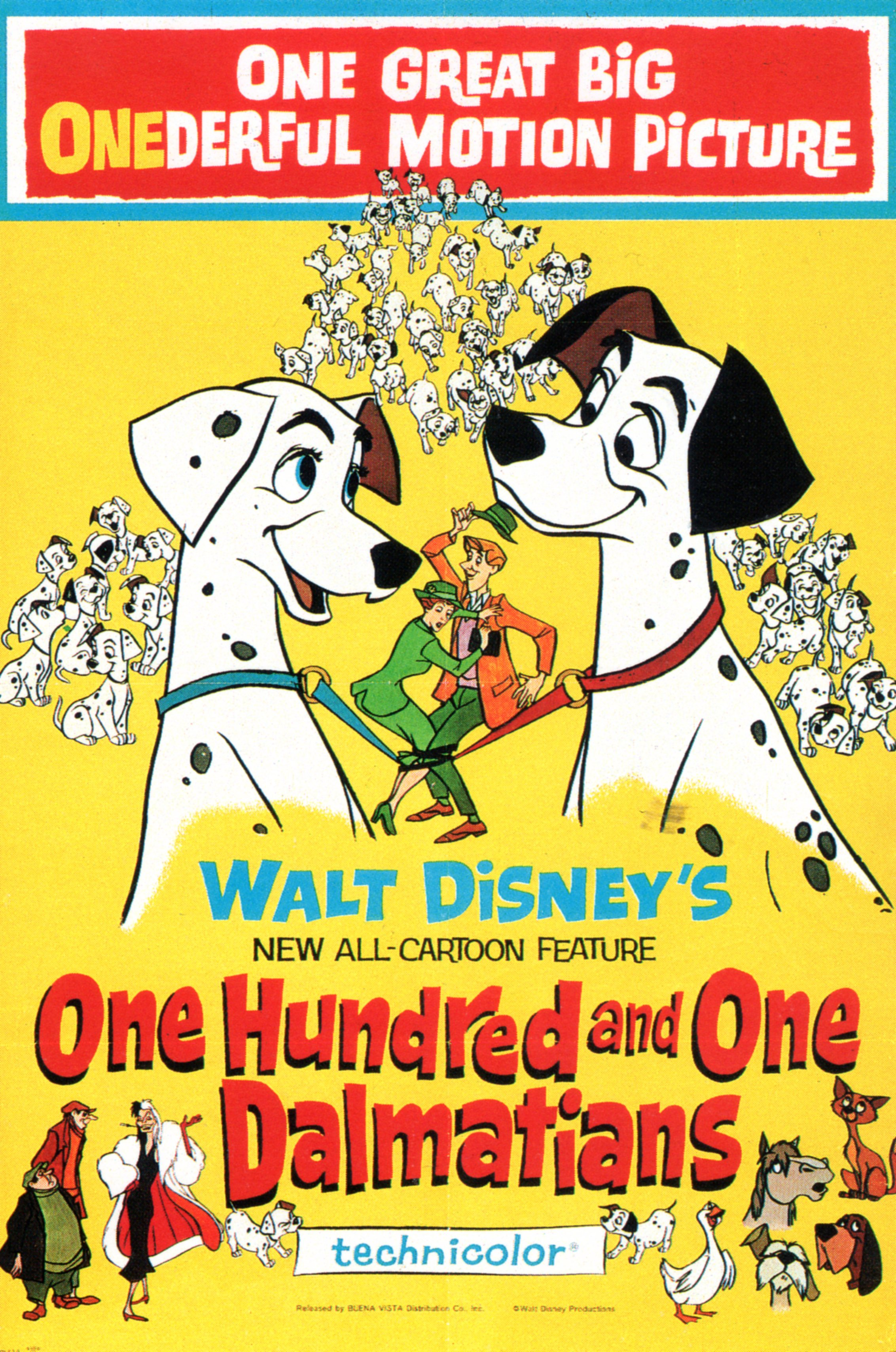 One Hundredand One Dalmatiansmovieposter