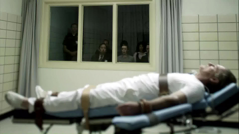 Oswald danes being executed by lethal injection tv the new world