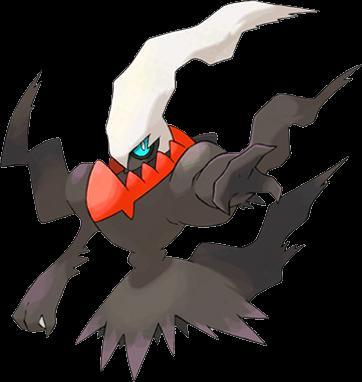 ¿Cual es vuestro pokemón favorito? Darkrai