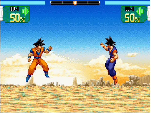 Dragon Ball Supersonic Warriors Gba