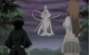 Sode no Shirayuki in front of Rukia and Inoue.png