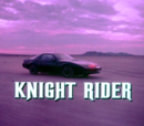 Section XI: Knight Rider