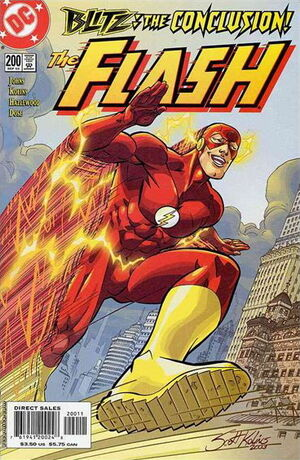Cover for Flash #200 (2003)
