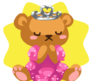 Bear Princess Plushie