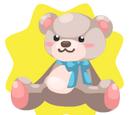 Cream Teddy Plushie