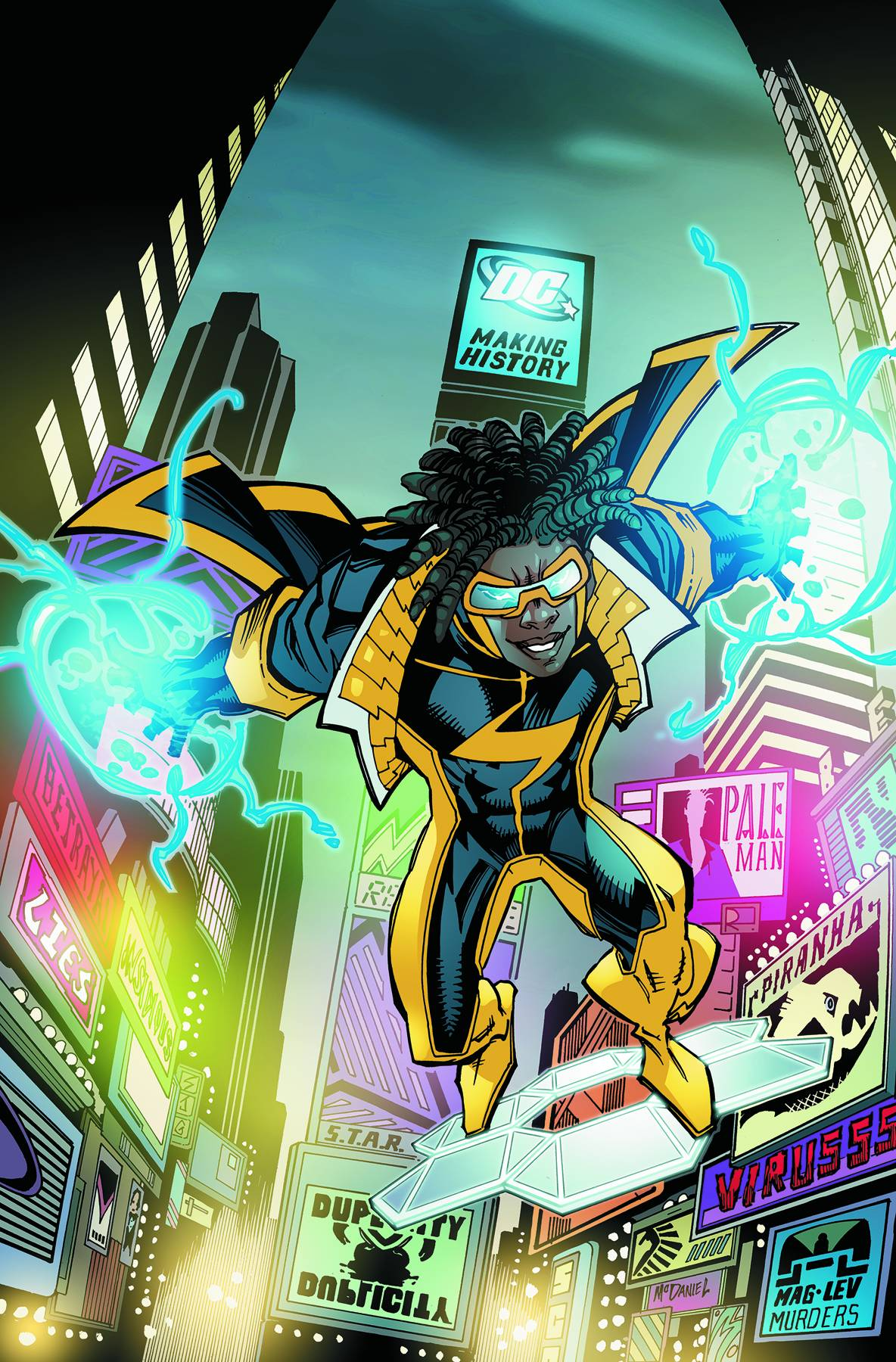 [Personnage] Static Static_Shock_Vol_1_1_Textless