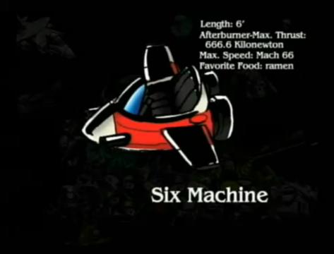 six machine