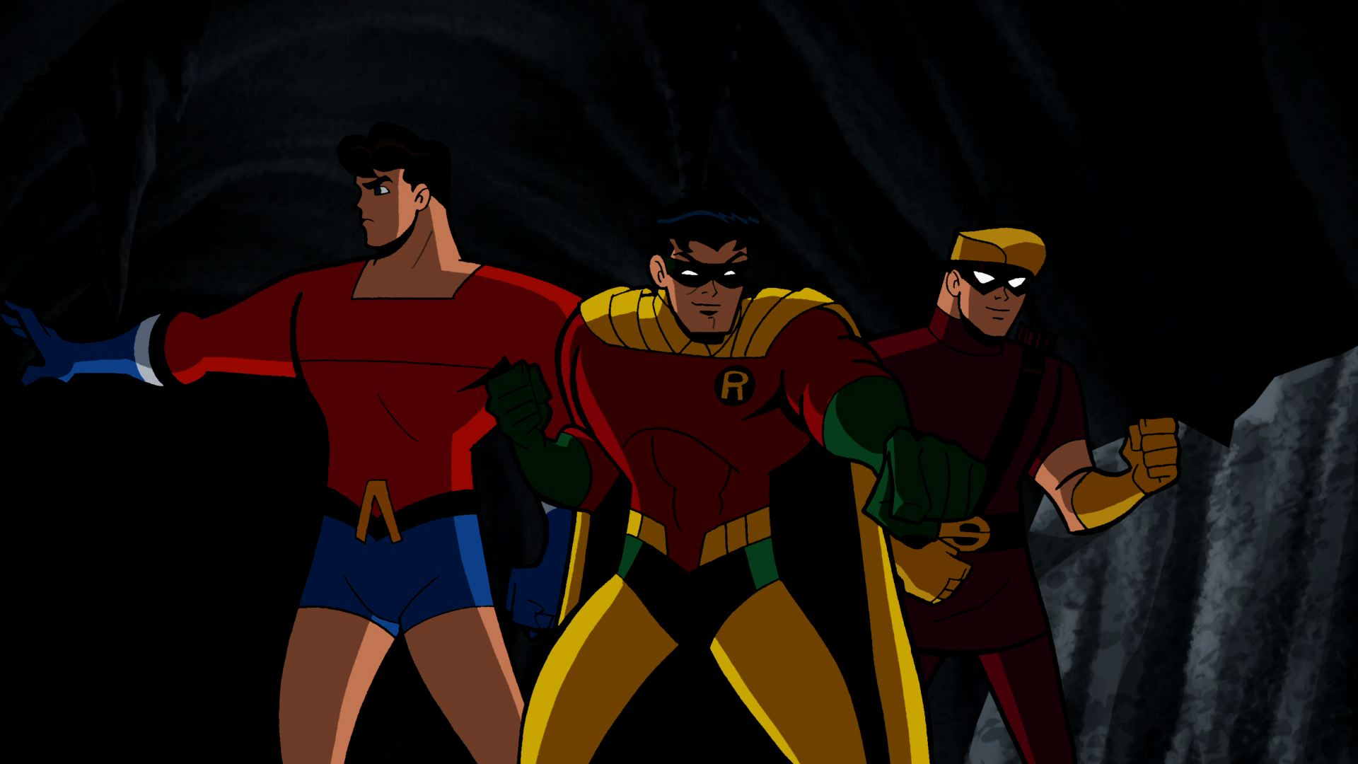 batman  the brave and the bold  tv series  episode  sidekicks assemble