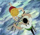 Monkey D. Luffy gegen Roronoa Zoro