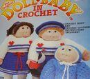 Fibre-Craft FCM102 The Original Doll Baby in Crochet